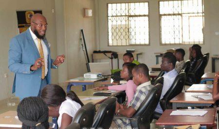 Communication Students of Pentvars urged to take up the mantle of leadership