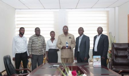 Prof. Omane-Antwi honoured at the 4th Ghana Finance Innovation Awards