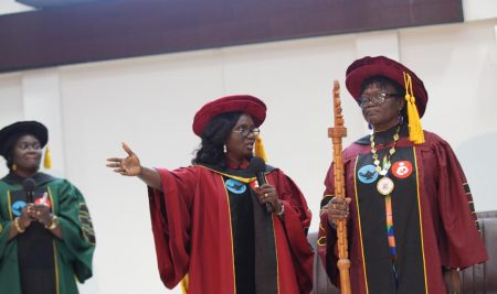 GCNM elects and inducts a new President from Pentecost University College