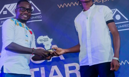 Bender Owusu Awarded the Most Industrious Student Entrepreneur in 2018