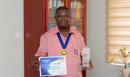 Prof. K. B. Omane-Antwi, Winner at Ghana Accountancy And Finance Awards 2019