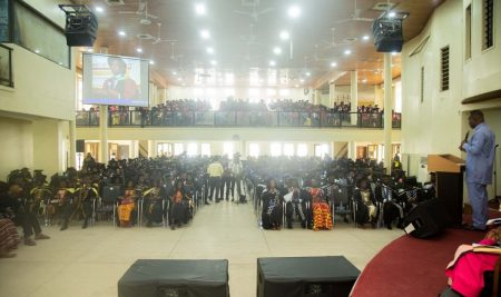 """Job Creation Not Job Finding"", Dr. Eric Oduro Osae, Guest Speaker During PUC's 11th Congregation Ceremony"