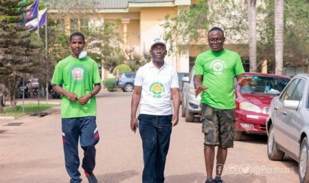 PUC Rector leads clean up exercise at the University and surrounding communities